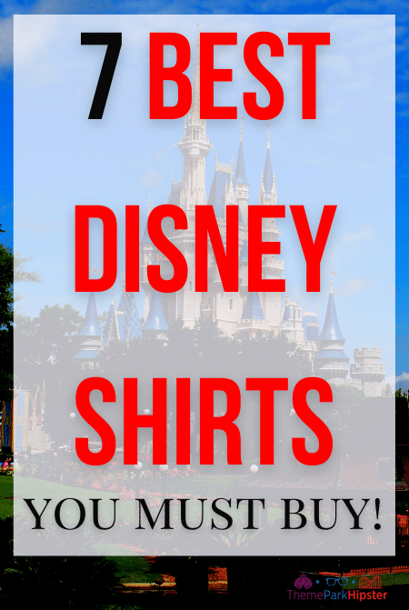 7 best Disney shirts for Adults