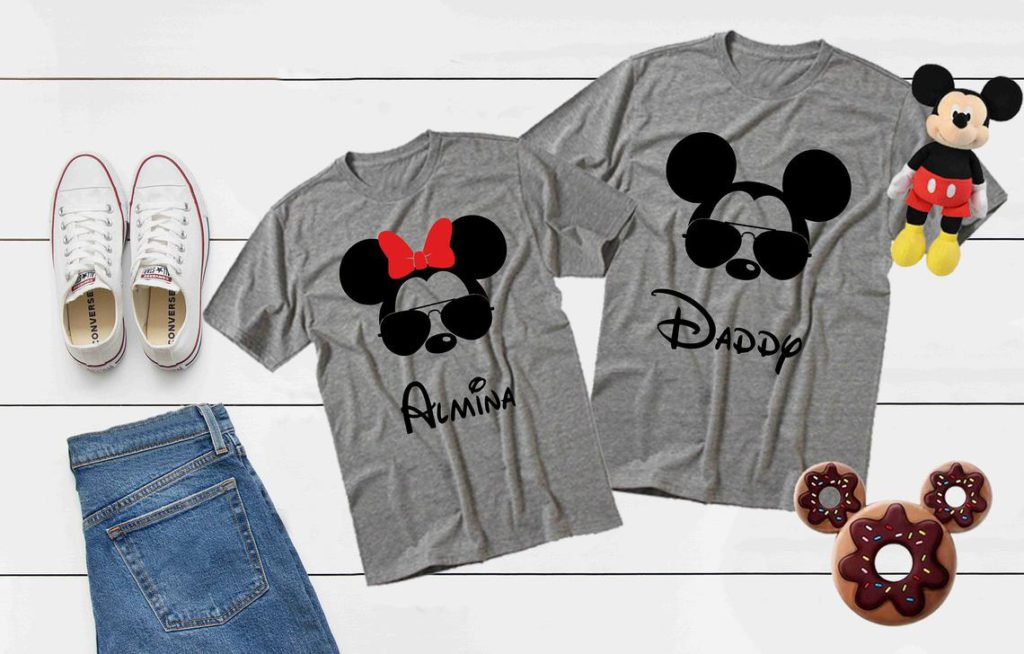 Best Disney Shirts for family going to Walt Disney World on Etsy