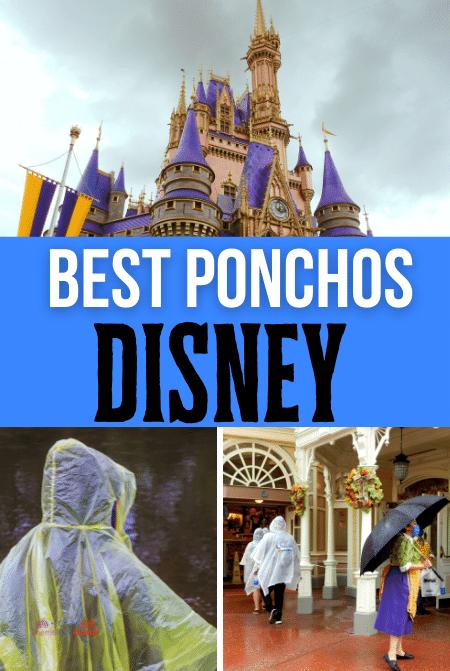 Best ponchos at Disney World