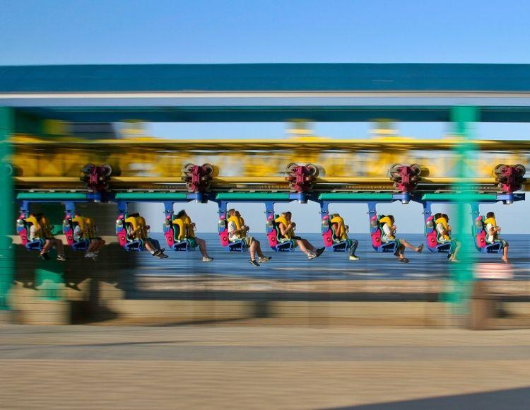 Cedar Point Wicked Twister Roller Coaster