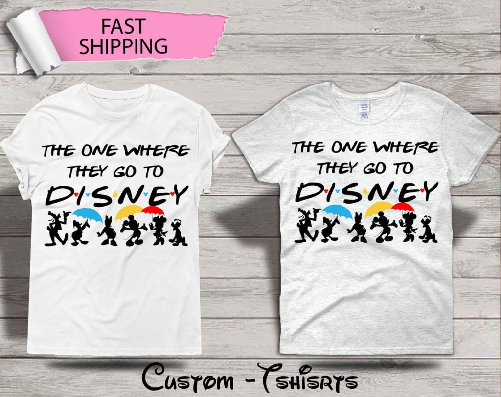 Etsy Disney Friends Shirt