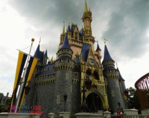 Rainy day At Magic Kingdom Orlando Florida
