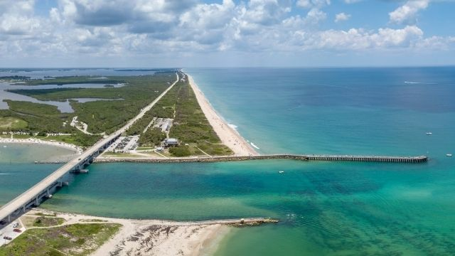 Sebastian Inlet Space Coast Florida