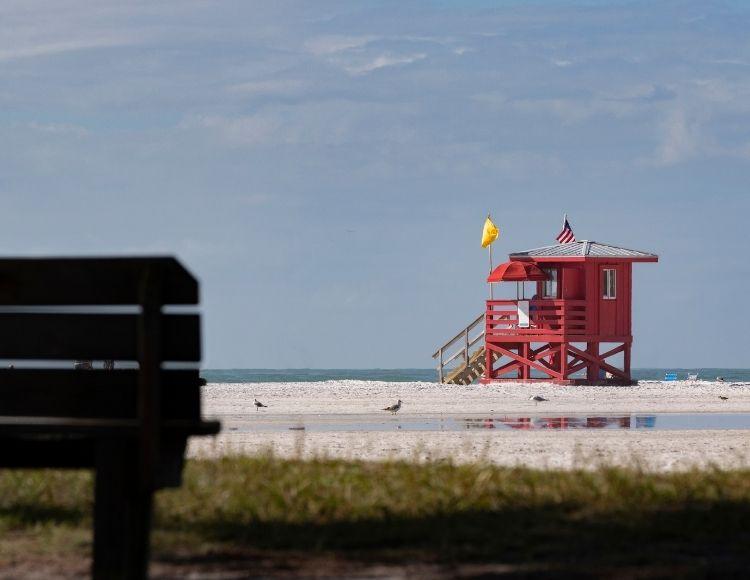 Siesta Beach Florida. Making it the best beach close to Disney.