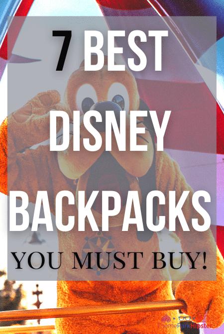7 best Disney backpacks