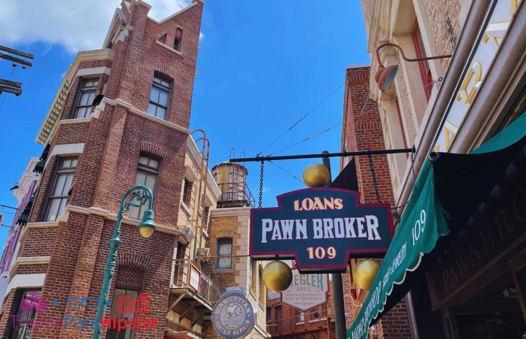 Back Alley at Universal Studios Orlando Florida