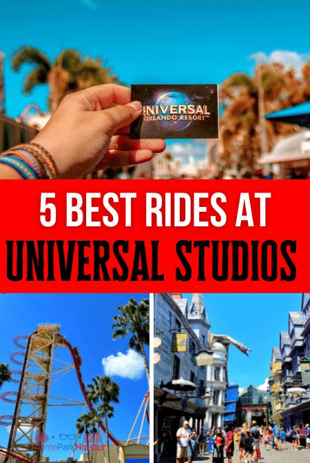 Best Rides at Universal Studios