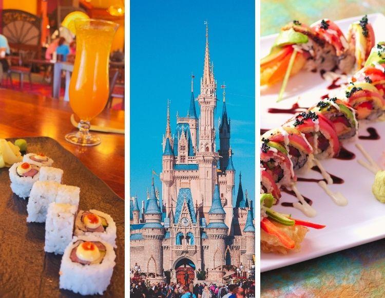 Best Sushi at Walt Disney World