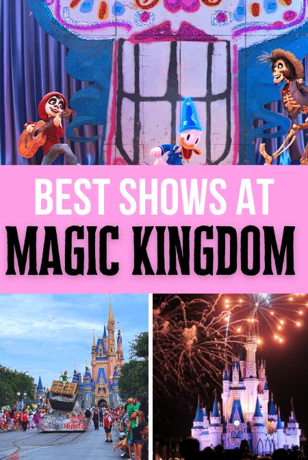 Best shows at Magic Kingdom