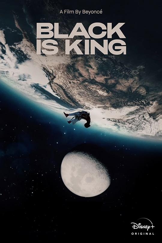 Black is King Poster Disney Plus