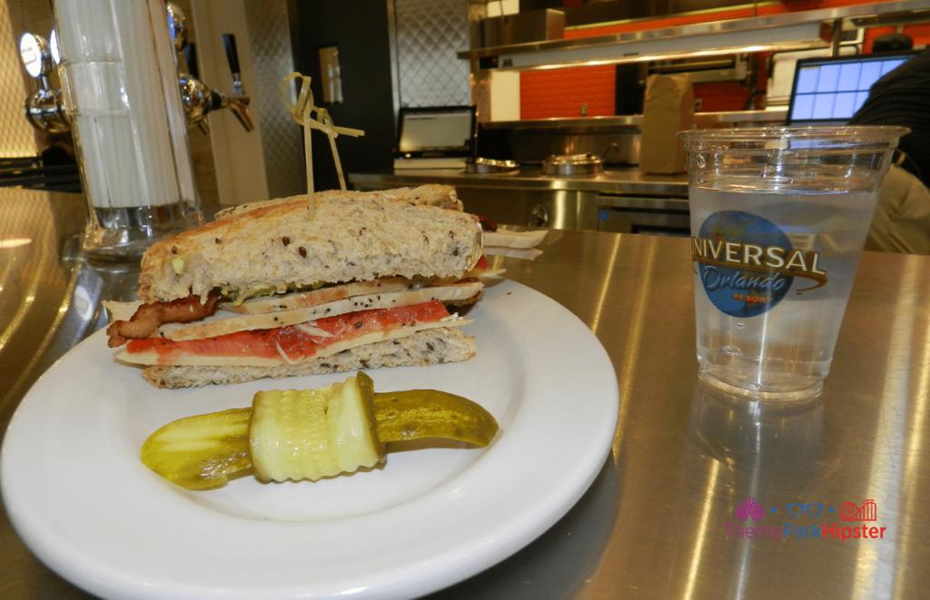 Breadbox turkey blt sandwich at CityWalk