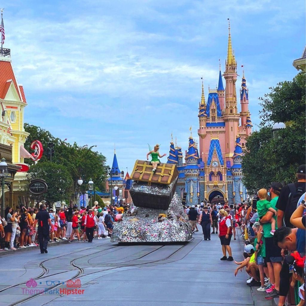 Cavalcade at Disney Magic Kingdom with Tinker Bell
