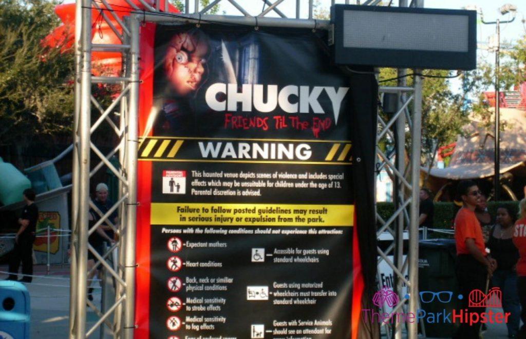 Chucky Friends til the End HHN 19