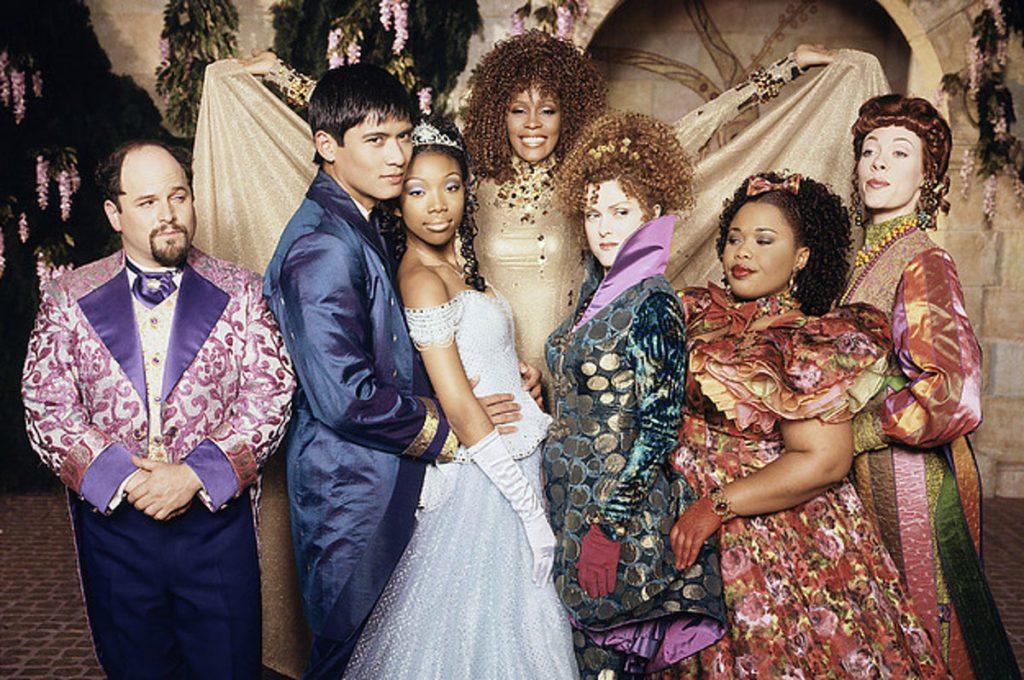 Cinderella with Brandy and Whitney Houston on Disney Plus