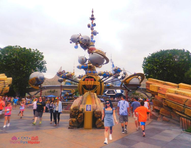 Disneyland Tomorrowland in July