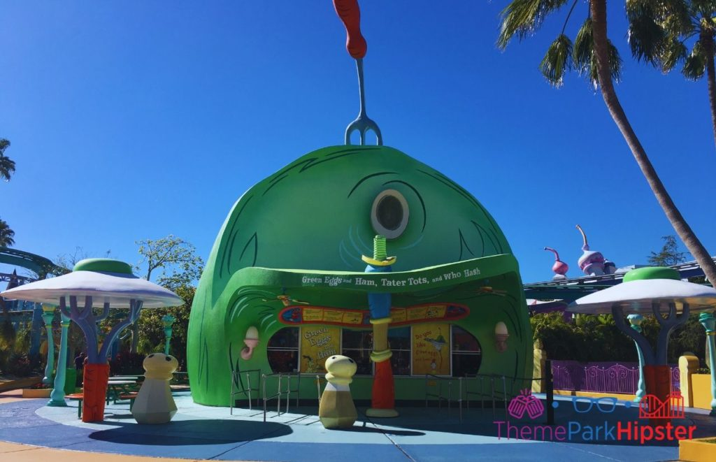 Green Eggs and Ham at Islands of Adventure Universal