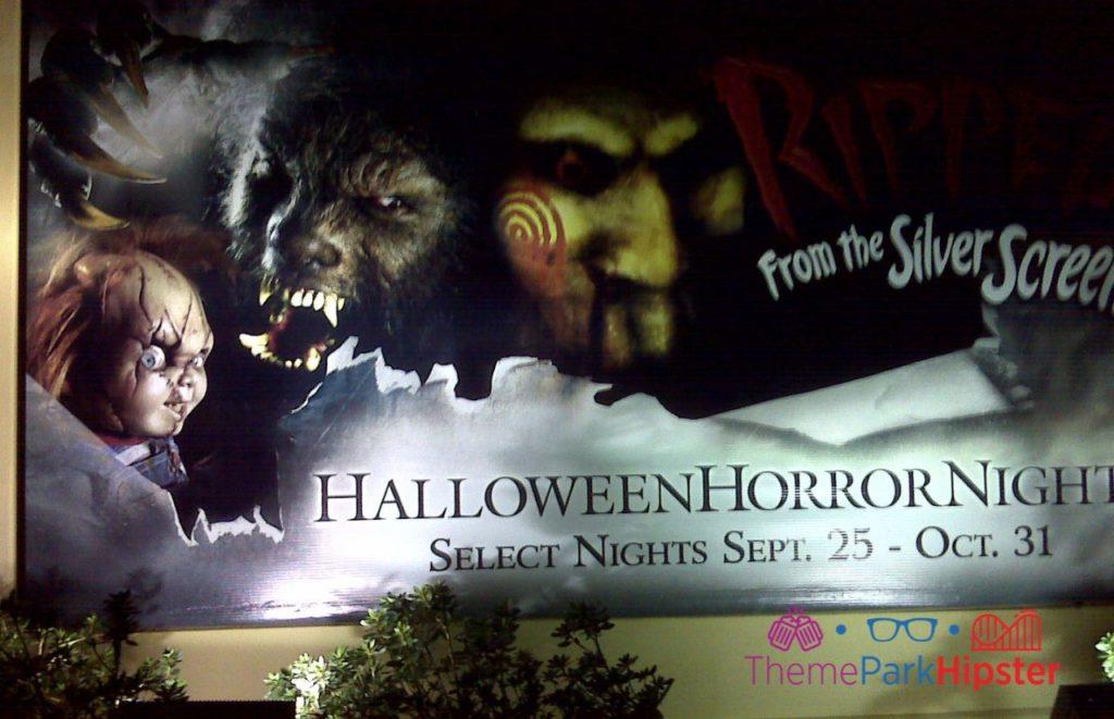 Halloween Horror Nights 2009 with Jigsaw and chucky HHN 19. halloween horror nights solo