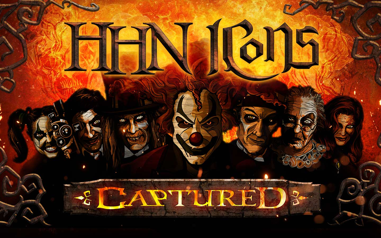 Halloween Horror Nights Icons Captured 2021