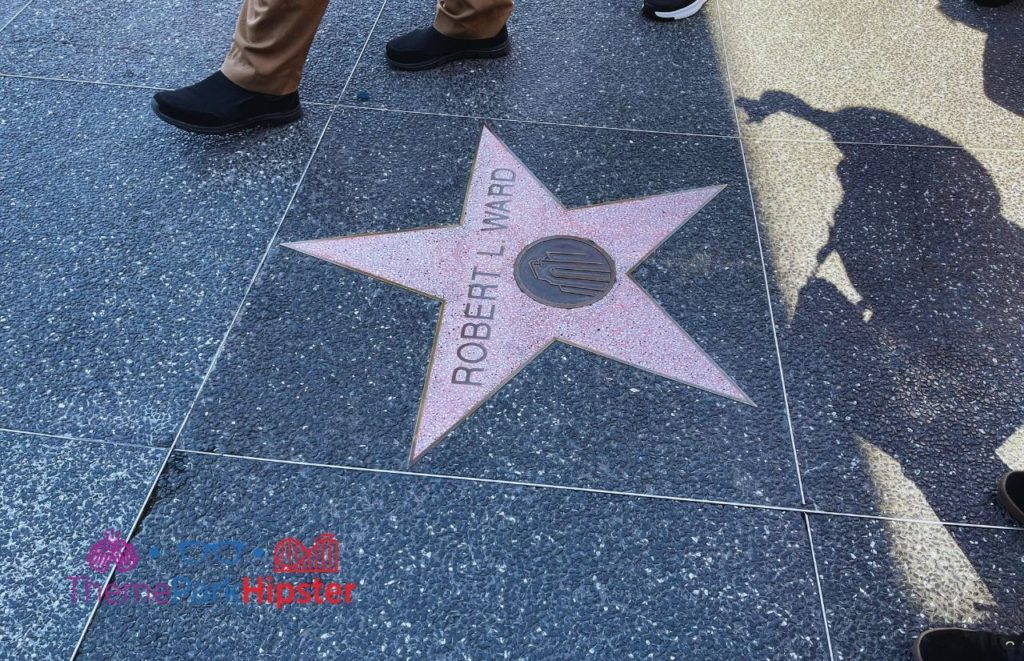 Hollywood Star Breakdown showing Universal Legends with the famous Icons on VIP Tour