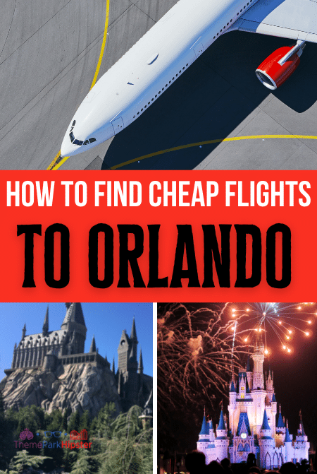 How to find cheap flights to Orlando