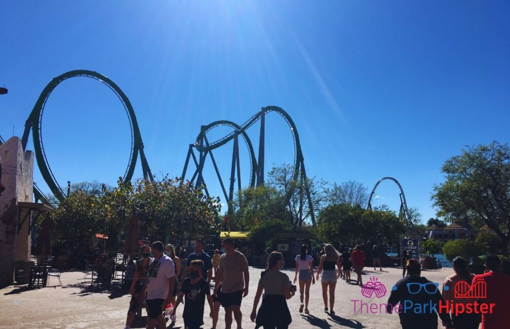 Incredible Hulk Universal Islands of Adventure. Universal Orlando Express Pass.