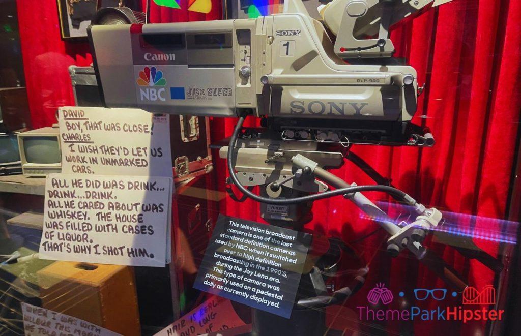 Jimmy Fallon Ride Vintage NBC Camera
