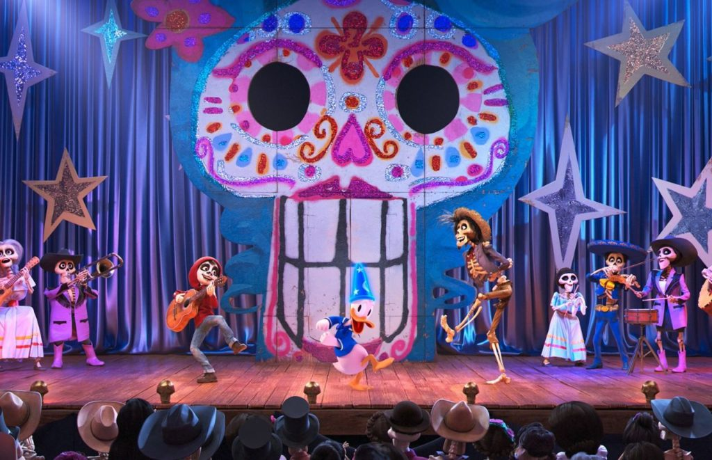 Mickeys PhilHarMAGIC with CoCo. One of the best Magic Kingdom shows.