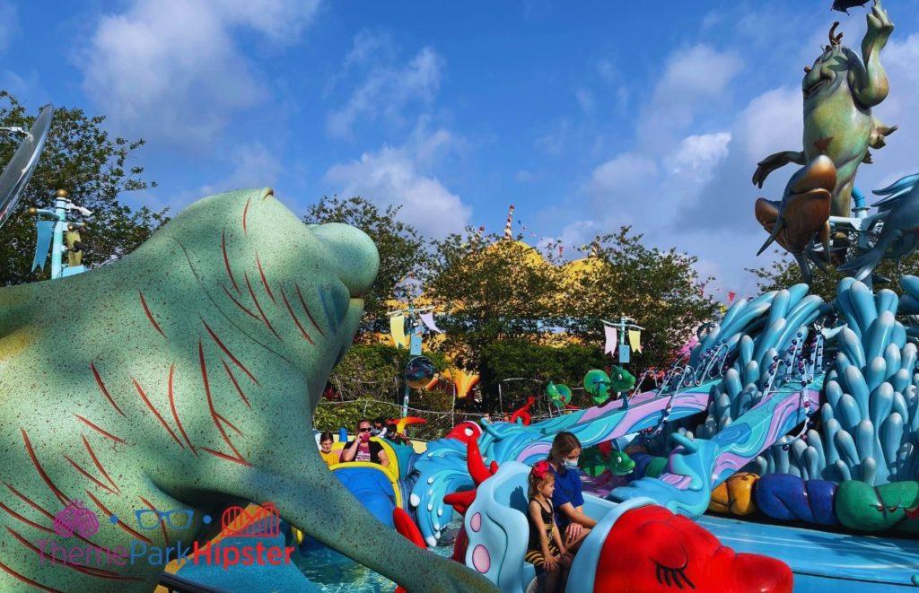One Fish Two Fish Red Fish Blue Fish Ride. Universal Studios Orlando VIP Tour