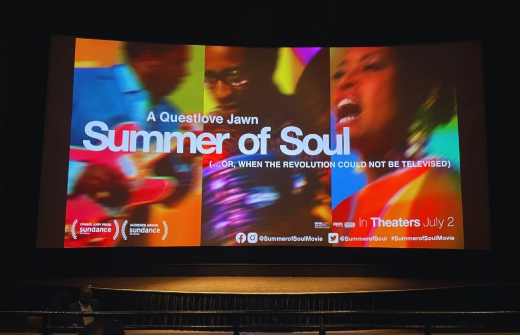 Questlove Summer of Soul Movie Preview at Disney Springs