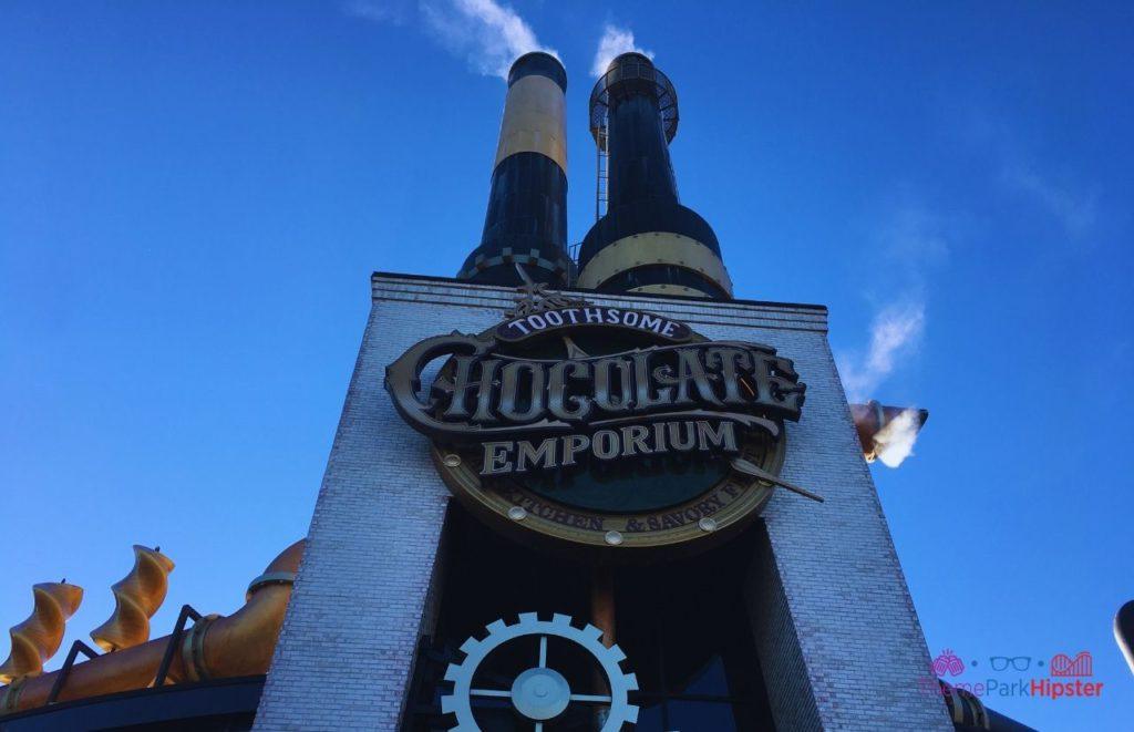 Toothsome Chocolate Emporium Entrance