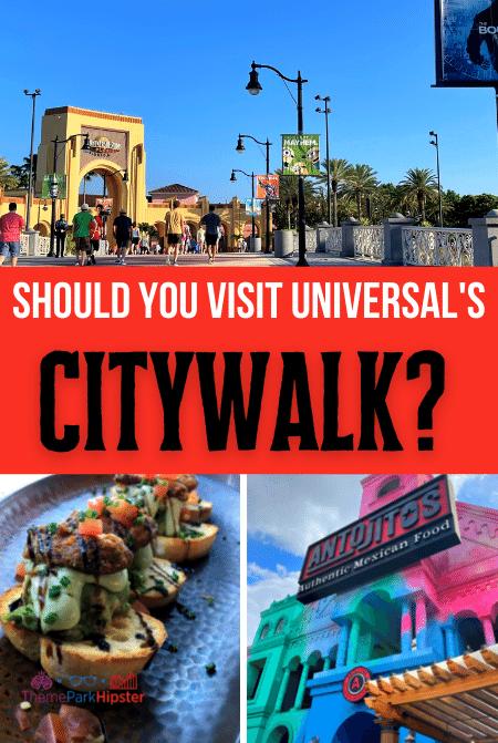Universal Orlando CityWalk Entertainment