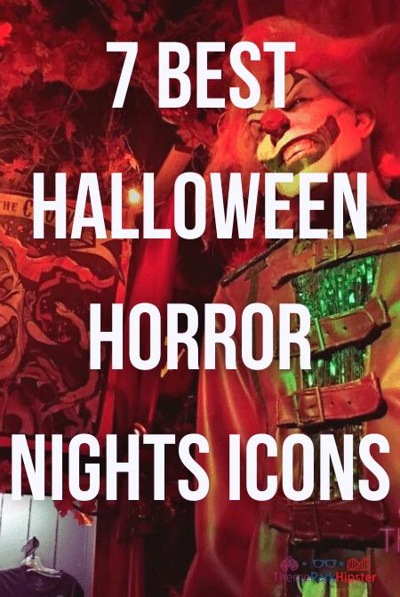 7 best Halloween horror nights icons