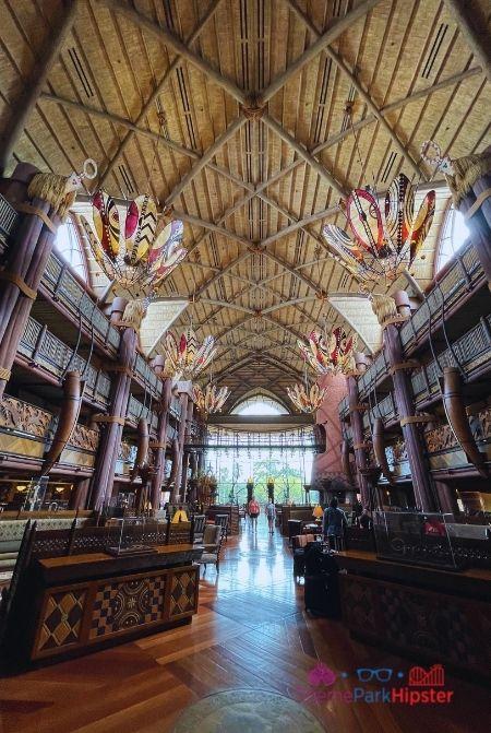 Animal Kingdom Lodge Grand Entrance Lobby