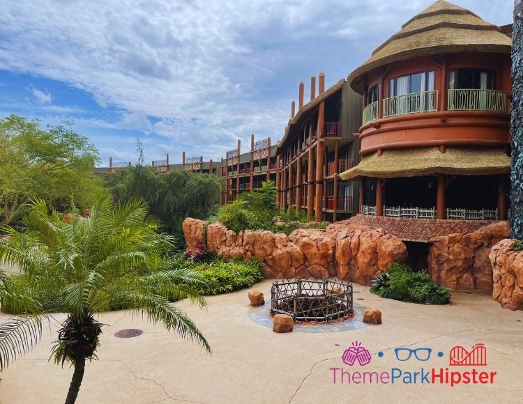 Animal Kingdom Lodge Landscape Jambo House