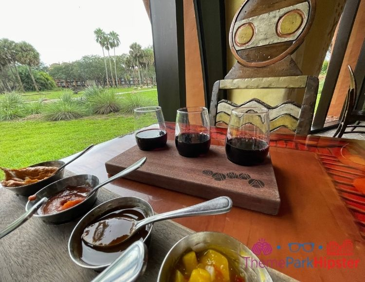 Animal Kingdom Lodge Restaurants Sanaa Disney Bread Service