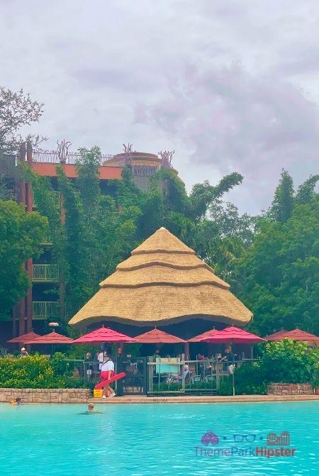 Animal Kingdom Lodge Restaurants Uzima Springs Pool Bar