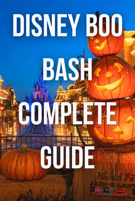 Disney Boo Bash complete guide