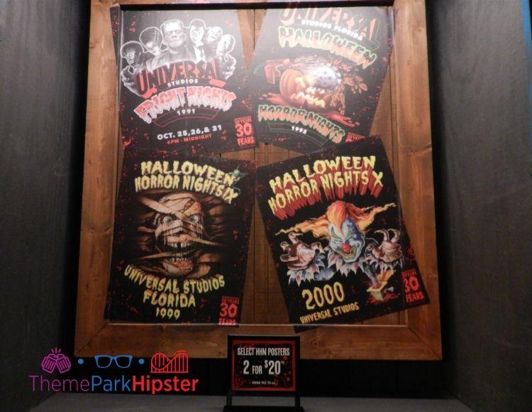 Halloween Horror Nights 1992 1999 2000 and Fright Nights