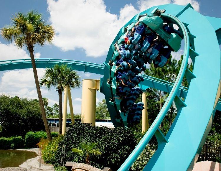 Kraken Roller Coaster SeaWorld