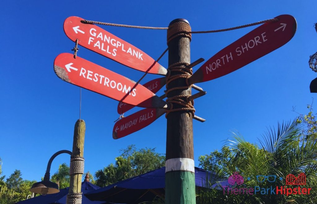 Best rides at Typhoon Lagoon Gangplank Mayday Falls