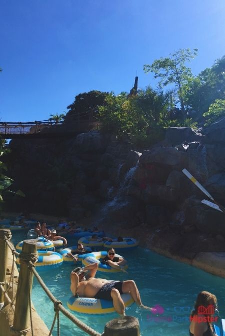 Best rides at Typhoon Lagoon Lazy River in Florida Sun