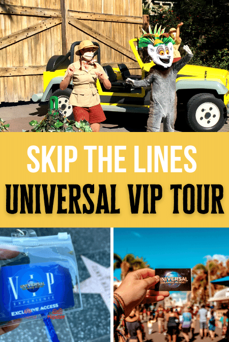 Universal VIP Tour experience