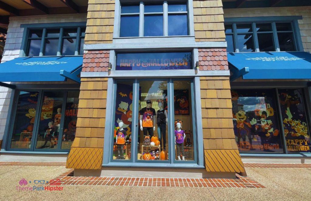 2021 Disney Halloween Merchandise Disney Spring Disney Store Facade
