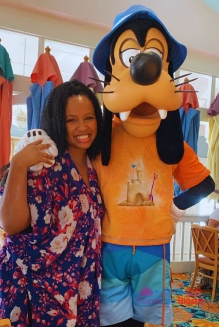 Best Buffet in Disney World Cape May with NikkyJ and Goofy