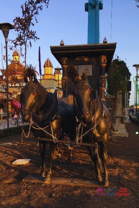 Cedar Point Halloweekends Dark Horses on Carriage