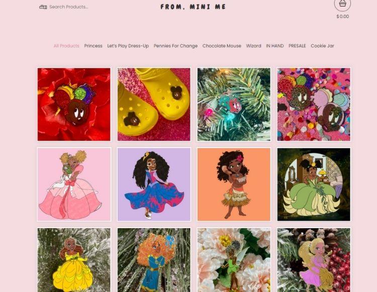 Chocolate Mini Me Shop Instagram Profile