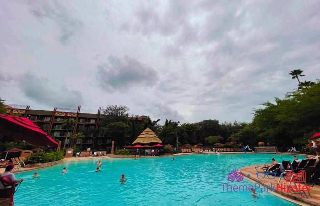 Disney Animal Kingdom Pool Area