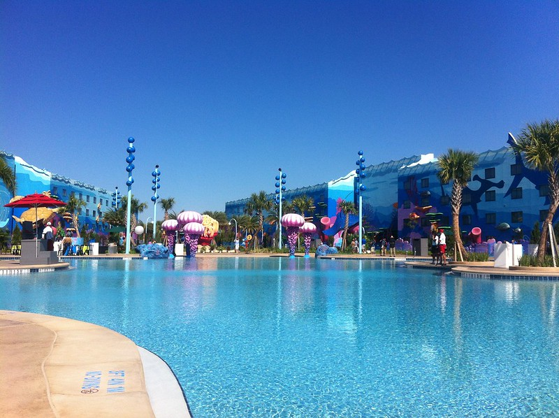 Disney Art of Animation Pool making it one of the best pools at Disney!