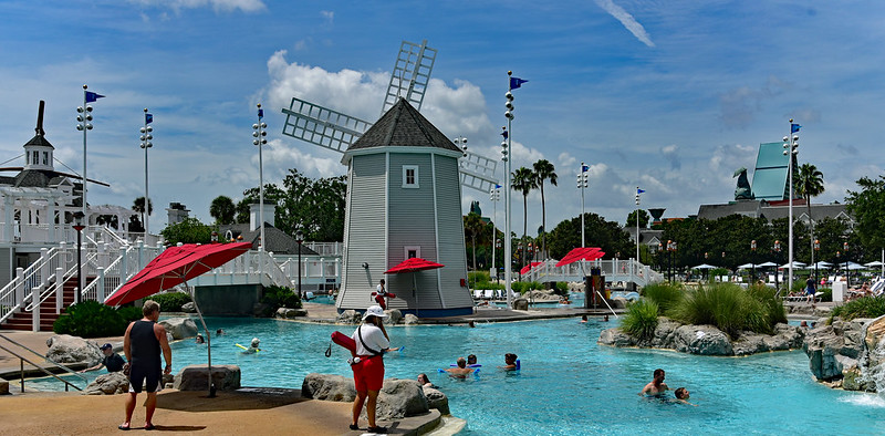 Disney Beach Club Pool Stormalong Bay making it one of the best pools at Disney!