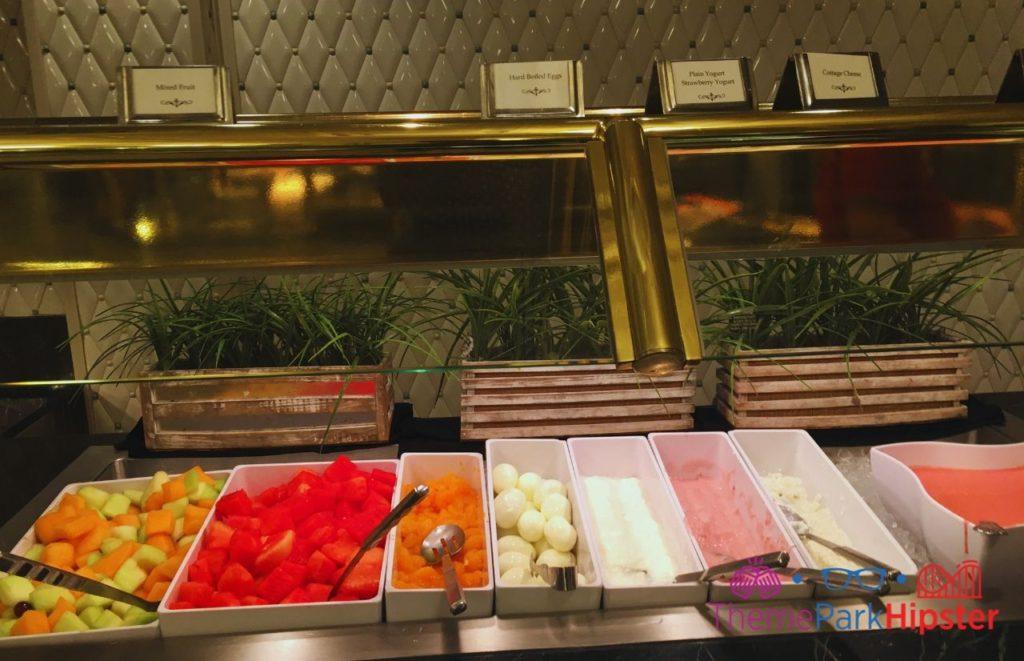 Disney Buffet Restaurant 1900 Park Fare Fruit Spread